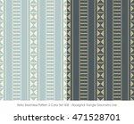 retro seamless pattern 2 color... | Shutterstock .eps vector #471528701