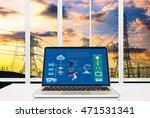 industry 4.0 and smart...   Shutterstock . vector #471531341