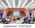 blurred business people in... | Shutterstock . vector #471572615