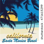 california surf typography  t... | Shutterstock .eps vector #471615299