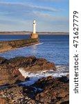 lighthouse in aberdeen  scotland | Shutterstock . vector #471627779