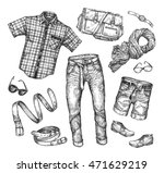 fashion. vector collection of... | Shutterstock .eps vector #471629219