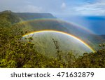 Double Rainbow Over Kalalau...