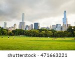 new york city   september 5 ... | Shutterstock . vector #471663221