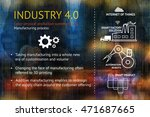 industrial 4.0 cyber physical... | Shutterstock . vector #471687665
