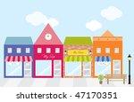 vector illustration of strip... | Shutterstock .eps vector #47170351