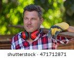 construction man | Shutterstock . vector #471712871
