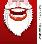 jolly santa claus. joyful...   Shutterstock .eps vector #471718541