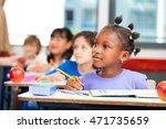 multi ethnic classroom. school...   Shutterstock . vector #471735659