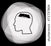 human profile vector icon | Shutterstock .eps vector #471737804
