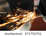 drill with diamond tipped... | Shutterstock . vector #471752741