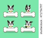 cartoon character boston... | Shutterstock .eps vector #471756797