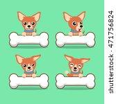 cartoon character brown... | Shutterstock .eps vector #471756824