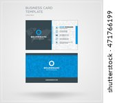 business card print template.... | Shutterstock .eps vector #471766199