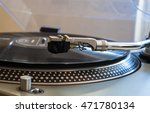 close up of a turntable needle... | Shutterstock . vector #471780134