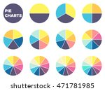 pie charts for infographics.... | Shutterstock .eps vector #471781985