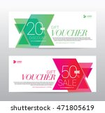 template gift voucher coupon... | Shutterstock .eps vector #471805619