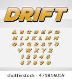 vector speed racing sport... | Shutterstock .eps vector #471816059