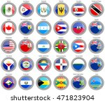 set of icons. north and central ...   Shutterstock .eps vector #471823904