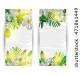 illustration of  tropical plant ...   Shutterstock .eps vector #471861449