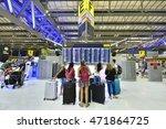 bangkok   august 21  departure... | Shutterstock . vector #471864725