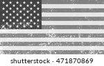 vintage american flag.grunge... | Shutterstock .eps vector #471870869