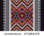 geometric ethnic oriental... | Shutterstock .eps vector #471884159