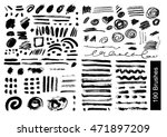 big set of 190 objects of... | Shutterstock .eps vector #471897209