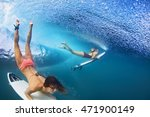 active girls in bikini in... | Shutterstock . vector #471900149
