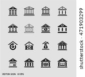 bank icon vector jpeg object... | Shutterstock .eps vector #471903299
