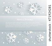 christmas snowflake... | Shutterstock .eps vector #471924281