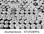 the collection of rechargeable... | Shutterstock . vector #471928991