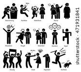 negative personalities... | Shutterstock . vector #471931841