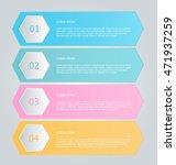 business infographics tabs... | Shutterstock .eps vector #471937259