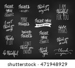 thank you friendship family... | Shutterstock .eps vector #471948929