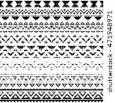 tribal geometric seamless... | Shutterstock .eps vector #471948971