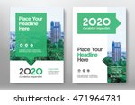 green color scheme with city... | Shutterstock .eps vector #471964781