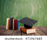 the square academic cap... | Shutterstock . vector #471967685