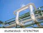 chemical pipe line transfer on...   Shutterstock . vector #471967964