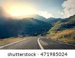 Transfagarasan Highway Road In...