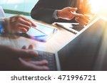 business team present.... | Shutterstock . vector #471996721