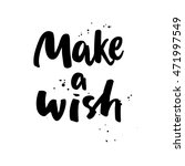 make a wish. boho style vector... | Shutterstock .eps vector #471997549