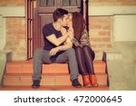 couple enjoying outdoors in a... | Shutterstock . vector #472000645