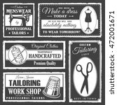 set of professional tailor... | Shutterstock . vector #472001671