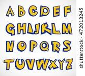 alphabet letter written in a...