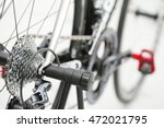 Small photo of A bicycle chain is a roller chain that transfers power from the pedals to the drive-wheel of a bicycle, thus propelling it. Most bicycle chains are made from plain carbon or alloy steel.