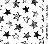 seamless pattern with hand...   Shutterstock .eps vector #472035331