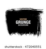 vector black grunge background | Shutterstock .eps vector #472040551