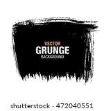 vector black grunge background | Shutterstock .eps vector #472040551