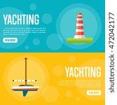 yachting vector illustration....   Shutterstock .eps vector #472042177